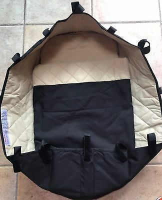 Bugaboo Frog Bassinet Carrycot Black Newborn Baby Infant Bed Fabric