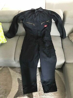 Dickies Coveralls Navy Blue S Reg Long Sleeve Pre-Owned Small Regular