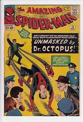 Amazing Spider-Man #12 Vol 1 Near Perfect High Grade 3rd App of Doctor Octopus