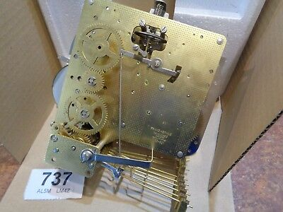 Hermle 1050-021 Mantle Clock MOVEMENT Floating Balance Triple Chime 8 Day parts