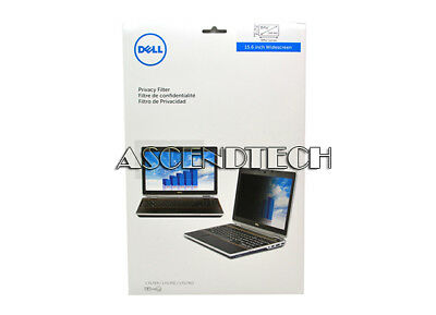 "Dell 16:9 15.6"" Black Privacy Filter For Laptop Lcd Widescreen Ktnw2 F1569De Usa"
