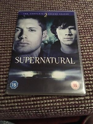 Supernatural - Series 2 - Complete (DVD, 2007, 6-Disc Set) - As new