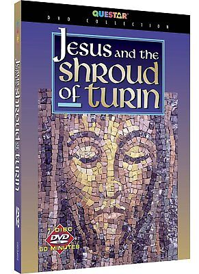 Jesus and the Shroud of Turin DVD -- *Brand New & Sealed, Damaged Packaging*