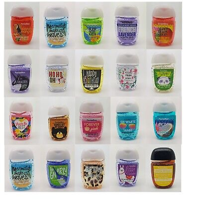 New Summer Scents!! Bath and Body Works Pocketbacs Mini Hand Sanitisers