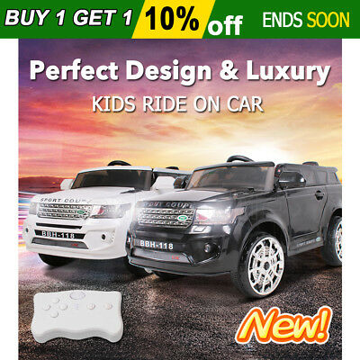 2018 Electric Kids Ride On Car Land Rover Inspired Toy Remote Battery Twin Motor