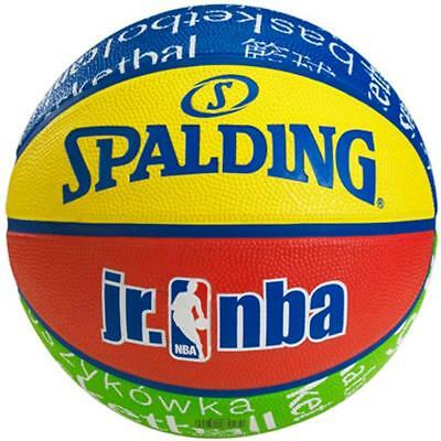 Junior NBA Coloured Basketball Size 5 Outdoor From Spalding