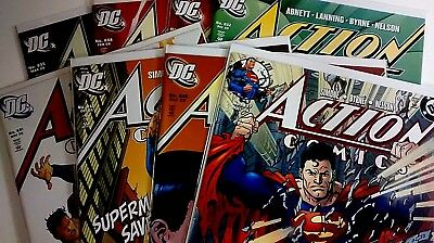 DC Action Comics (1938) #827, 828, 830-835 First Livewire Simone Byrne Lot