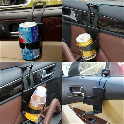 Car Cup Holder Water Bottle Can Drink Mount Rack For Window and Headrest