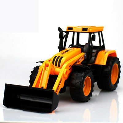 Kids Toy Vehicles Inertial Truck Tractor Plastic Multi Functional Excavator Toys