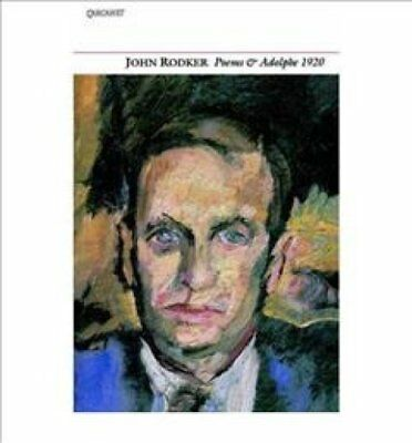 Collected Poems and Adolphe 1920 by John Rodker 9781857540604 (Paperback, 1996)