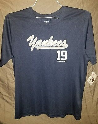 9512b609a MLB NEW YORK Yankees Youth Boys XL (16-18) Masahiro Tanaka #19 T ...