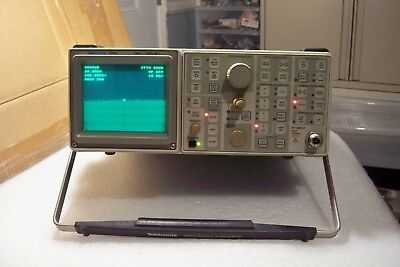TEKTRONIX 2710 10kHz TO 1.8GHz SPECTRUM ANALYZER  lot of option