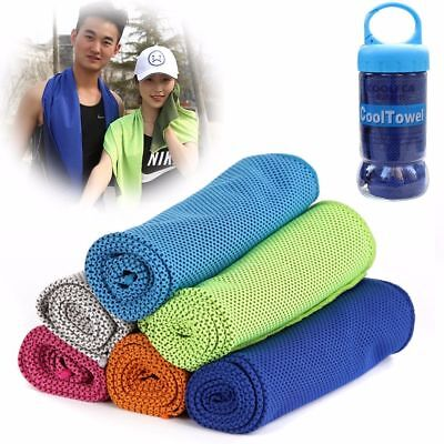Cold Towel Summer Sports Ice Cooling Towel Hypothermia Cool Towel 31X100cm