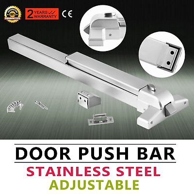 Exit Panic Bar Push Door Device Emergency Push bar Commercial Grade New QN