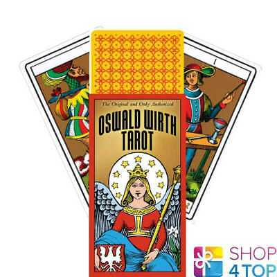 Oswald Wirth Tarot Deck Cards Marseilles Esoteric Us Games Systems New