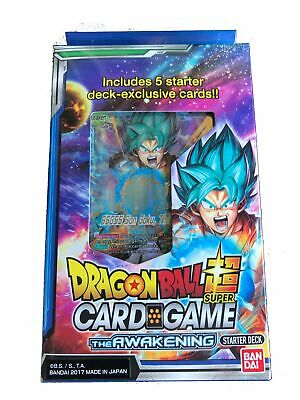 Dragon Ball Super TCG The Awakening Starter Deck. New and Sealed.