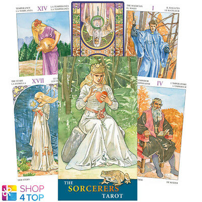 The Sorcerers Tarot Deck Cards Esoteric Fortune Telling Lo Scarabeo New