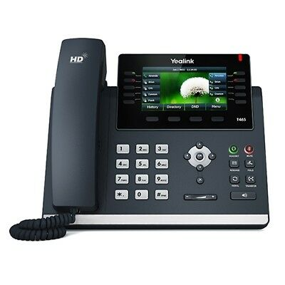 NEW IPY-T46S SIP-T46S, YEALINK SIP-46S 10 LINE COLOUR IP PHONE, USB2.0, 2X .e.