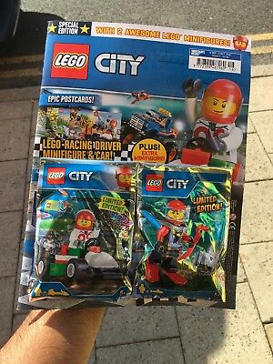 Lego City Magazine Special Edition Issue 6 March 2018 Free Miner Mike Minifigure