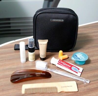 CATHAY PACIFIC First Class Complete Travel Kit Designed By Ermenegildo Zegna.