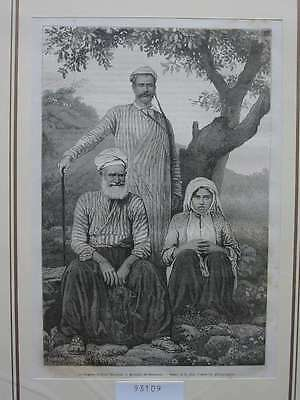 93109-Asien-Asia-Syrien-Syria-Maronite Maroniten-T Holzstich-Wood engraving