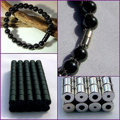 SUPER STRONG BEST AAA+++ Magnetic Clasps Silver, Gun Metal, Black Hematite Beads