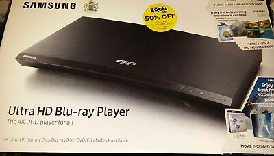SAMSUNG ULTRA HD Blu-ray Player UBD-M9000 incl EVEREST Film BRAND NEW SEALED