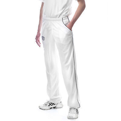 ND Cricket Playing Kit Trousers Whites Flannels Match Trouser Pants Boys Mens