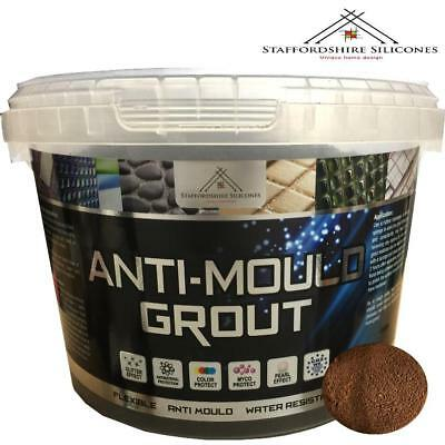 Brown Anti mould grout, Flexible, Water resistant, Wall or floor tiles