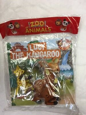 My Zoo Animals Magazine Issue 3 Sayan The Tiger + Penguin Fig Informative Book