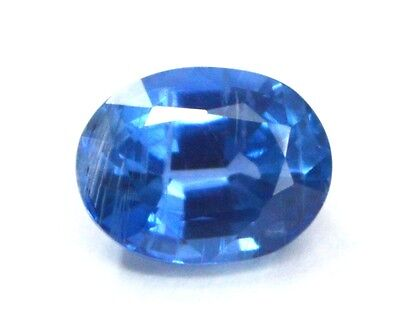 2.55 Ct TOP QUALITY NATURAL BLUE KYANITE 7X9 MM OVAL CUT GEMSTONE FOR JEWELRY