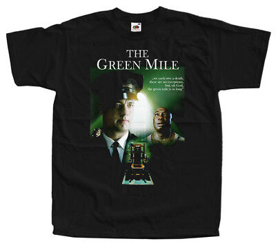 The Green Mile 1999 movie poster Tom Hanks t-shirt 100% cotton sizes S-5XL v2