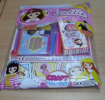 Love From magazine #50 Lottie + Pencil Case, Keyring, Stickers & Crayons
