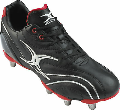 Clearance Line New Gilbert Sidestep Zenon Low Cut Hard Toe Rugby Boots Size 4