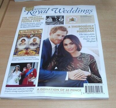 The Illustrated Royal Wedding 2018 magazine Souvenir Issue; Victoria & Albert to