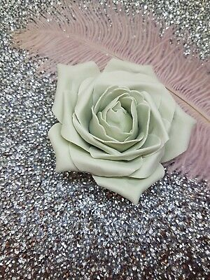 Grey Display foam Flower 9cm