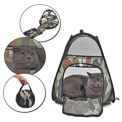 Cat Beds Camouflage Breathable Tent Pet Bed For Animals Carriers Travel Outdoors