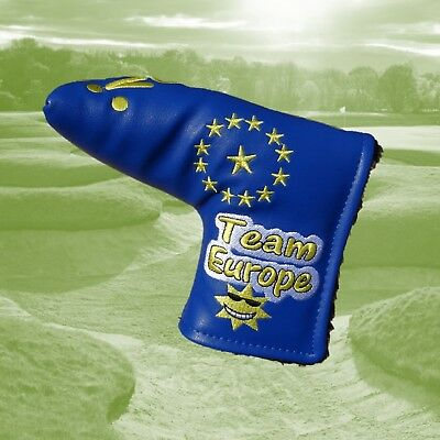 Team Europe 2018 Tour Only Blade European Golf Putter Cover ideal for Ping Anser