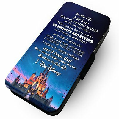 In This Life, I Do Disney - Printed Faux Leather Flip Phone Case #2