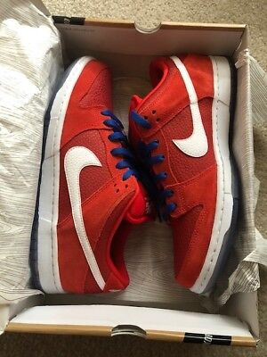 NIKE SB DUNK low challenge red DS size 10.5 -  127.99  81b311c08fef
