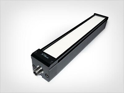TPL Vision Industrial Quality 10 LED Light Bar Red with Diffuser EBAR-250-630-7