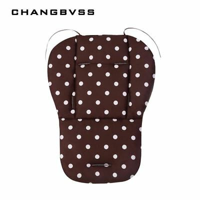 Baby Car Seat Pad Pram,Comfortable Cotton Baby Infant Stroller Seat Cover,Pushch