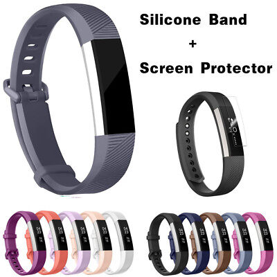 Replacement Silicone Wrist Band Strap For Fitbit Alta/ Fitbit Alta HR Bands SL