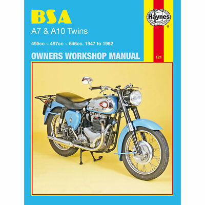 BSA Shooting Star Twin Super Flash Super Rocket 1947-62 Haynes Workshop Manual