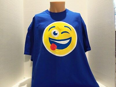 Vintage Pepsi Smiley Face (Say It With Pepsi) Promo T-Shirt (2Xl) 2 Sided- Rare