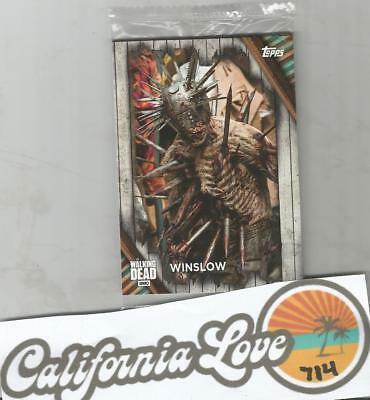 The Walking Dead Topps (3) Trading Cards Limited Edition ✔☆New/sealed☆✔ Winslow