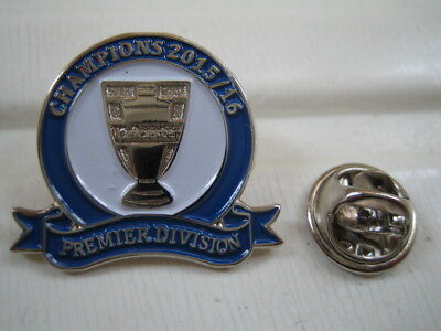 (255)   LEICESTER CITY PREMIER 15/16  football club  pin  badge            fc