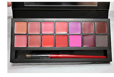 Smashbox Drawn In Decked Out Be Legendary Lipstick Palette 14 Shades Authentic
