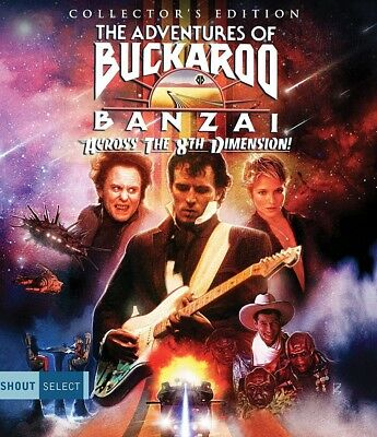 The Adventures of Buckaroo Banzai Blu-Ray Scream/Shout Factory with SLIPCOVER