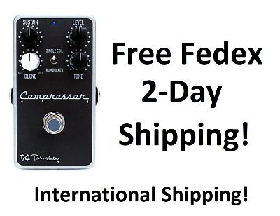 New Keeley Compressor Plus Guitar Effects Pedal +